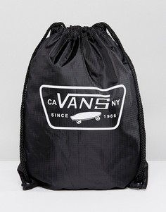 Черный рюкзак с затягивающимся шнурком Vans League V002W6Y28 - Черный