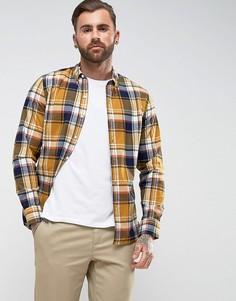 Рубашка в клетку без карманов Levis - Желтый Levis®