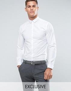 Приталенная рубашка Noak - Белый