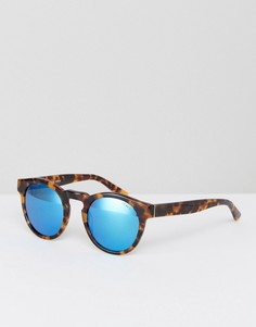 Коричневые круглые солнцезащитные очки Levis - Коричневый Levis®