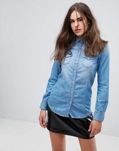 Джинсовая рубашка Pepe Jeans Periwinkle - Синий