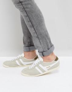 Замшевые кроссовки Gola Bullet - Белый