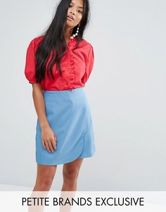 Блузка с вышивкой ришелье Sister Jane Petite - Красный