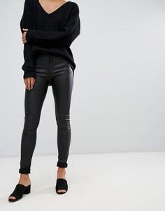 Облегающие джинсы с покрытием Vero Moda - Черный