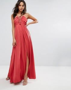 Платье макси The Jetset Diaries - Красный