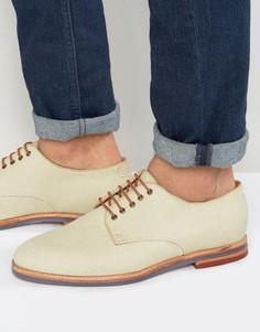 Кожаные туфли дерби Hudson London Hadstone - Рыжий