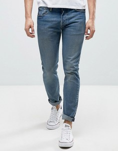 Выбеленные джинсы скинни Levis 501 - Синий Levis®
