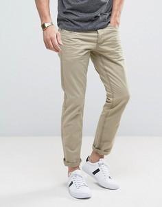 Повседневные брюки светло-коричневого цвета Esprit 5 - Бежевый