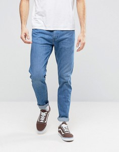 Светло-синие зауженные джинсы Levis Line 8 - Синий
