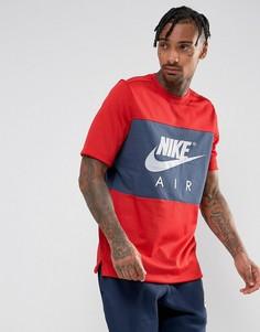 Красная футболка Nike Air 913964-657 - Красный