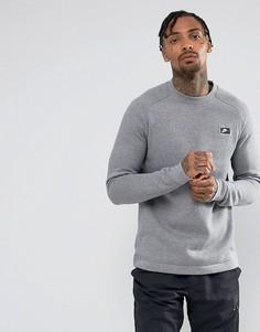 Серый свитшот с круглым вырезом Nike Modern 885970-091 - Серый