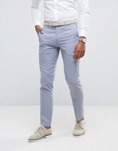 Синие брюки скинни Farah Wedding - Синий