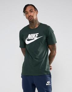 Зеленая футболка Nike Futura 696707-374 - Зеленый