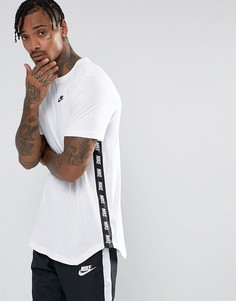 Белая футболка с принтом Nike 877086-100 - Белый