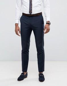 Темно-синие брюки скинни Farah - Темно-синий