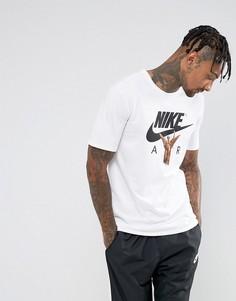 Белая футболка с принтом Nike Air 856366-100 - Белый