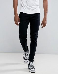 Черные узкие джинсы Rollas Thin Captain - Черный Rollas