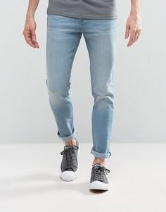 Светлые узкие эластичные джинсы Loyalty and Faith Pillar - Синий