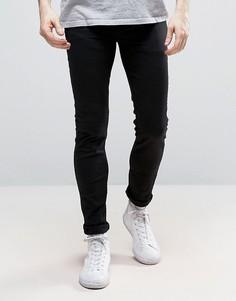 Черные эластичные джинсы скинни New Look - Черный