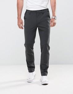 Тканые брюки с манжетами Bellfield - Серый