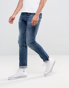 Темные узкие джинсы Replay - Синий
