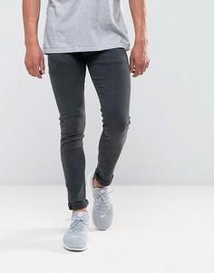 Черные выбеленные эластичные джинсы скинни Replay Jondrill - Черный
