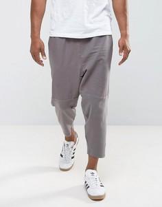 Светло-фиолетовые суженные книзу укороченные брюки ASOS - Фиолетовый