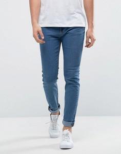 Голубые джинсы скинни Only & Sons - Синий