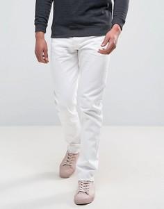 Белые джинсы скинни с необработанными краями Weekday Sharp - Белый