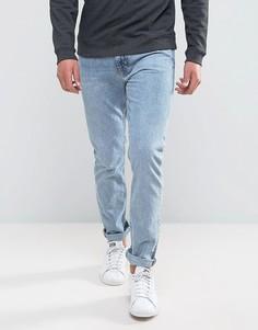 Голубые джинсы скинни Weekday Friday - Синий