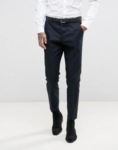 Узкие брюки AllSaints - Темно-синий