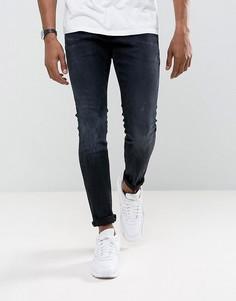 Супероблегающие темные джинсы G-Star Revend - Темно-синий