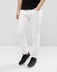 Суженные книзу светло-выбеленные джинсы G-Star 3301 MR - Белый