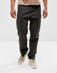 Свободные брюки с поясом G-Star Rovic Qane - Черный