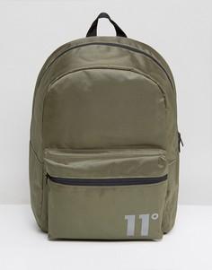Рюкзак цвета хаки 11 Degrees - Зеленый