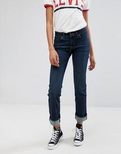 Узкие прямые джинсы Levis 714 - Синий Levis®