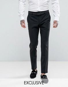 Супероблегающие брюки Noose & Monkey - Черный
