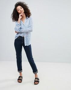 Темные прямые джинсы Vero Moda - Темно-синий