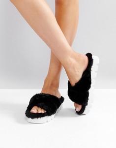 Черные сандалии Glamorous - Черный