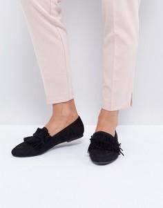 Черные лоферы Glamorous - Черный