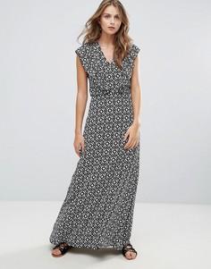 Платье макси с плиточным принтом Liquorish - Мульти
