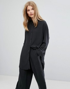 Рубашка Weekday - Черный