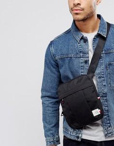 Черная сумка для полетов Tommy Hilfiger Nylon Label - Черный