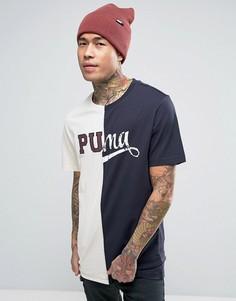 Футболка Puma - Темно-синий