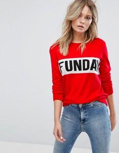 Джемпер New Look Funday - Красный