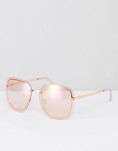 Квадратные солнцезащитные очки Skinnydip - Розовый
