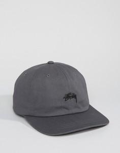 Бейсболка Stussy - Серый