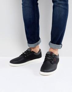 Черные кроссовки Jack & Jones Gaston - Коричневый