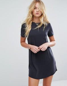 Платье-футболка Abercrombie & Fitch - Черный