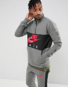Серый свитшот Nike Air 861620-091 - Серый